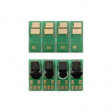 Чип HP CLJ Pro M180 181 0.9K CF531A Cyan DELCOPI