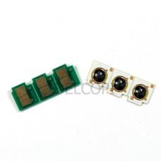 Чип HP CLJ CP3520 3525 CM3530 7k CYAN DELCOPI