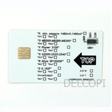 Чип Oki B2500 2520 2540 2.2K Smart Card DElCopi